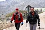 keepgoing como nutrición en carrera: Paso del km70 en ultra trail desafio cantabria