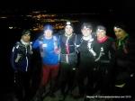 Mochila ultra trail: Entreno invernal nocturno con Bandoleros por Senda Herreros.