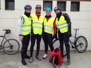 trail del serrucho 2013 fotos org. 17 voluntarios ciclistas