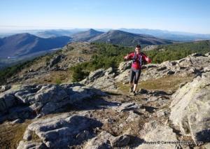 Entrenamiento Trail en El Escorial. Llegando al Pico Abantos.