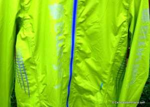 Lafuma Speedtrail jacket: Detalle patronaje y remates