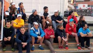 Transgrancanaria 2013 foto equipo favoritos durant el briefing. Foto: Kataverno.com