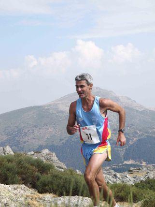 Carreras Montaña Peñalara: Jaime Anabitarte en Cross Cuerda Larga.