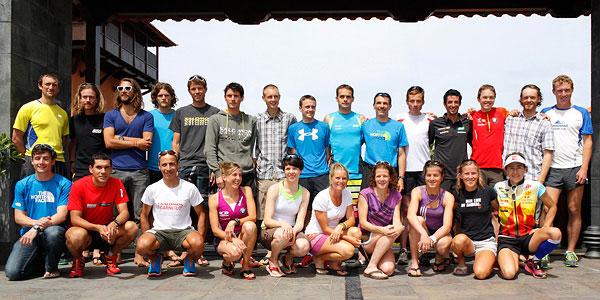 Corredores de montaña: Estrellas del Skyrunning 2012 en Transvulcania