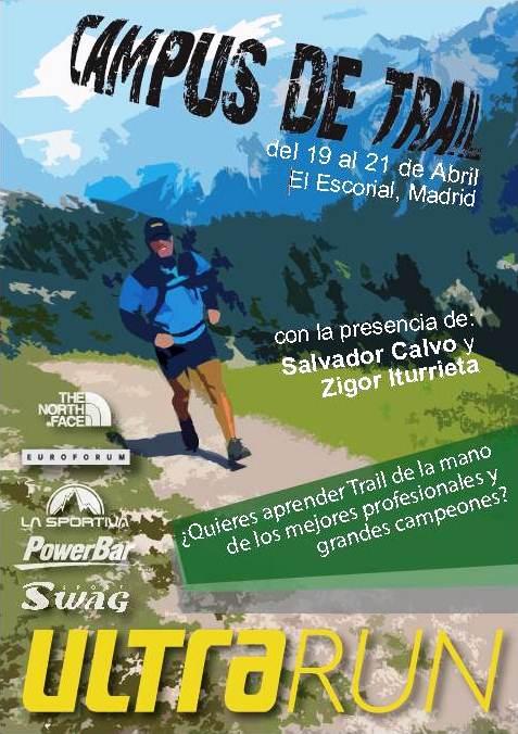 Entrenamiento Carreras Montaña: Campus trail Madrid Ultrarun