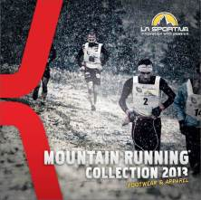 La Sportiva catalogo trail runnning 2013