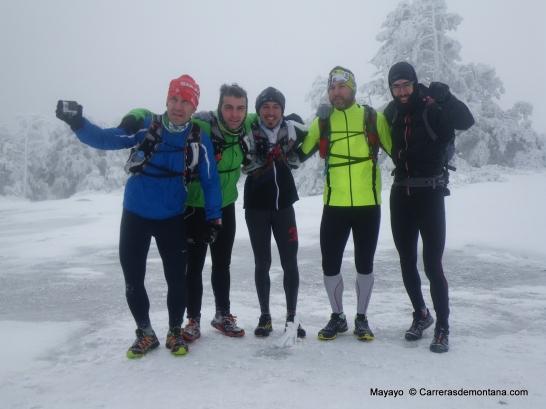 trail running nieve ruta guadarrama Senda Alevines (11)