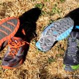 2-zapatillas trail running brooks cascadia 7 vs raidlight RL-001 fotos