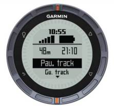 Garmin Fenix uso de botones track