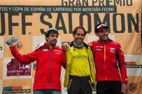 Iván Ortiz, campeón España FEDME 2012 con Tófol Castanyer 2º y Miguel Heras 3º