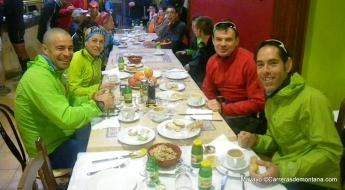 Ivan Ortiz con Pablo Criado Ana Bustamante y Mayayo en training camp CSP115