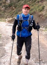 mochila trail camp light trail vest 10L en desafio cantabria 2012 2