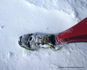 Salomon Sense Mantra: Buena sensaciones en las nieves del Guadarrama.