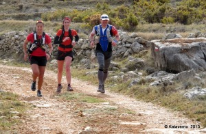 zapatillas trail running NB leadville en Penyagolosa CSP115 training camp
