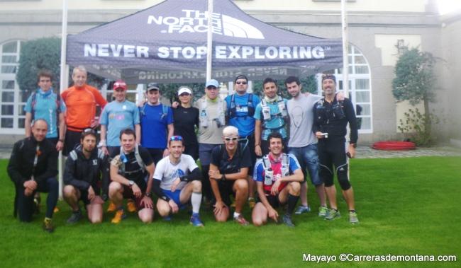 Entrenamiento de Trail: Salida ascenso/descenso Abantos, con Salvador Calvo y Zigor Iturrieta.