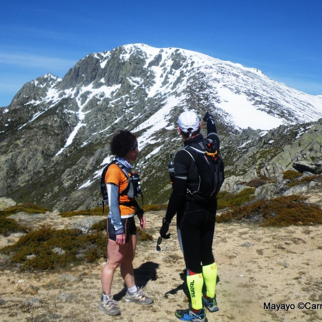 Maliciosa para trail running. Circuito 28k/D+1350 para entrenamiento ultra trail.