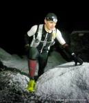 Accidente de montaña: Subida trail running nocturna nevada a Peñota