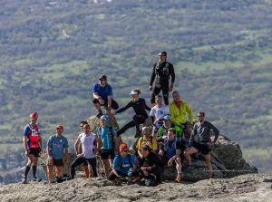 Entrenamiento de trail : Campus trail ultrarun en la cresta hacia Abantos