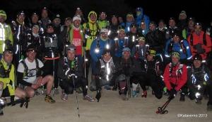 Entrenamiento Trail: Salida del Grupo entreno guiado  Foto Kaverno
