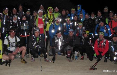 Entrenamiento ultra trail GTP  13 Abril 2013. Maliciosa nocturna