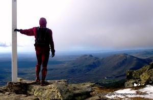 Entrenamiento Trail Running: Mayayo en la cima de Abantos