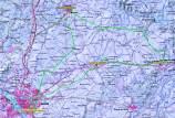 MIllas Romanas Mérida 2013 mapa bucle 3