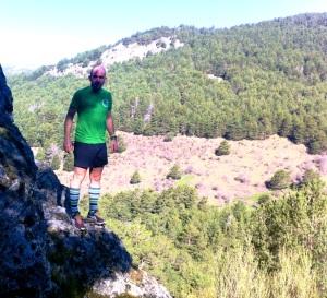 Zapatillas Trail Asics Fuji Attack 2: Gabi probandolas en el granito de Cercedilla
