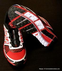 Zapatillas Salomon Crossmax 2 (135€ / 330gr / Drop 10,5m)