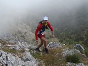 Quixote Legend 2013: José Irurozqui liderando la carrera.