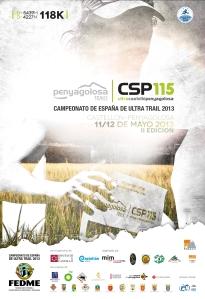 CSP115 fotos cartel carrera 2013