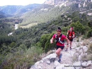 CSP115 training camp: Xari Adrián con Sonia Escurola.