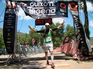 Quixote Legend ultra trail 2013: Jose Irurozqui vencedor en la 2ª etapa.