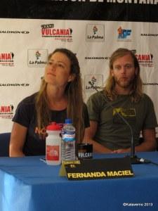 Tim Olson y Fernanda Maciel