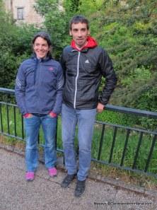 Adidas Trail Running, Luis Alberto Hernando y Uxue en Zegama