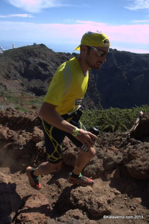 adidas trail Luis alberto hernando liderando transvulcania 2013