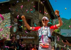 Andorra Ultra trail 2013: Julien Chorier vencedor Ronda dels Cims.