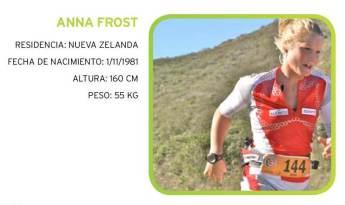 Anna Frost corredora de montaña