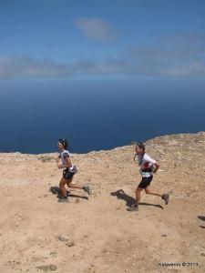 Corredoras de Montaña en Haria Extreme 2013.