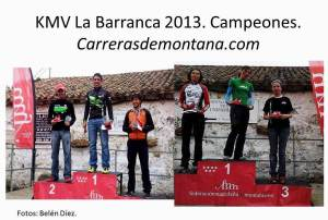 Kilometro Vertical La barranca 2013 Foto Campeones  Carrerasdemontana.com