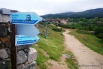 trail montaña ruta guadarrama la granja cercedilla carteles valsain