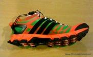 Zapatillas trail Adidas Adistar raven foto perfil