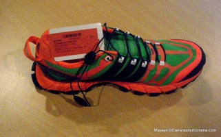 Zapatillas trail Adidas Adistar raven foto
