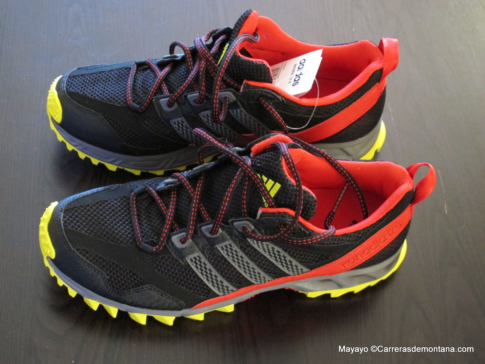zapatillas trail adidas kanadia