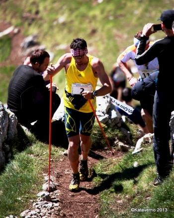Adidas Trail Running, Luis Alberto Hernando en zegama aizkorri skyrunning 2013 photos by kataverno (190)