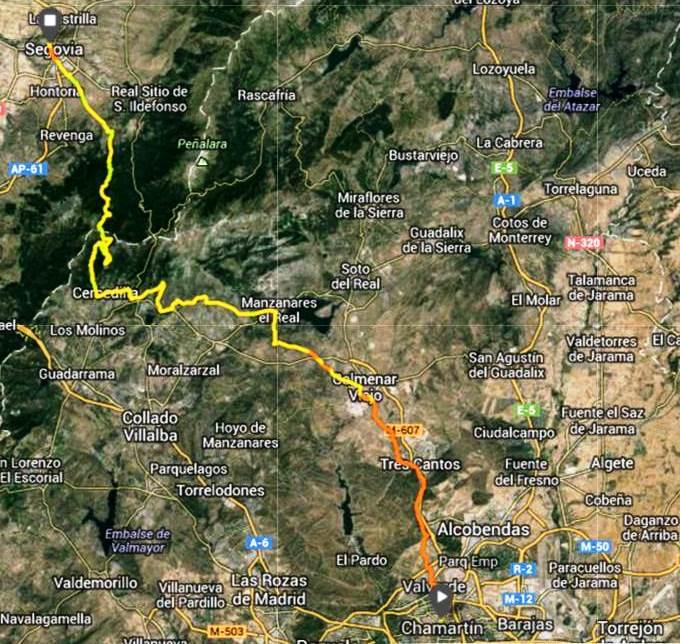 Retamalejo Enlaces De Interés 100 Km Madrid Segovia 2013 21sep Fin Entrenamientos Guiados Análisis Recorrido Y Material Ultra Trail Recomendado