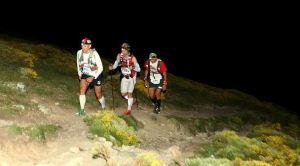 Gran Trail Peñalara 2013 fotos John Tidd y Mikel leal llegando al Collado del Piornal.  Foto Kataverno.com