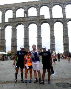 100 km Madrid Segovia fotos entrenamiento ultra trail