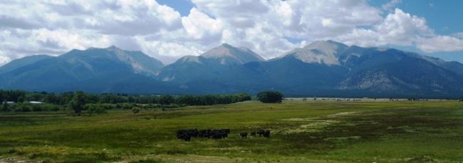 Panorámica de los Collegiate Peaks que no logró encadenar Krupicka. Foto: Mayayo