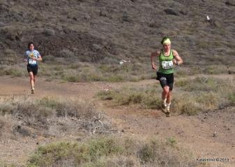 Nuria Dominguez Azpeleta carreras montaña 2013 Haria tras Maite Maiora (2)