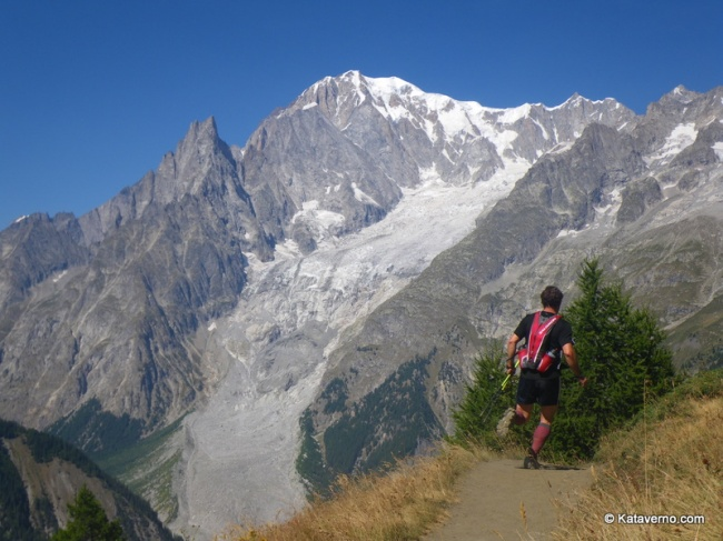 ¿Qué es Trail Running? Senderos de Courmayeur a Grand. Col Ferret.